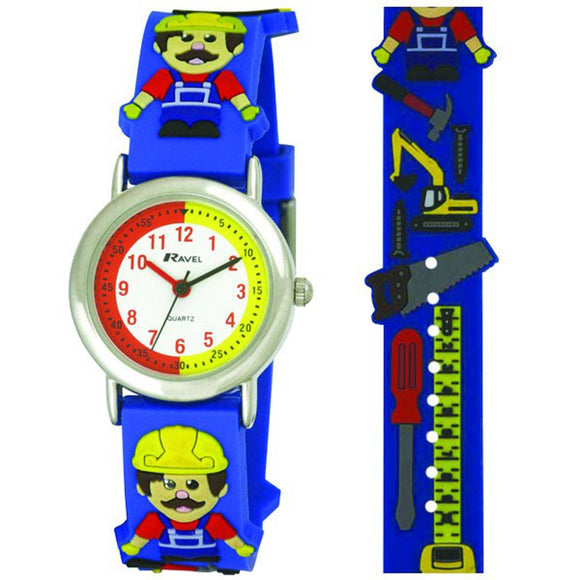 Ravel Children's 3D Builder Time Teacher Watch - Caths Direct