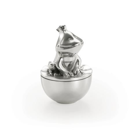 Royal Selangor Fairy Tales Frog Prince Pewter Tooth Box - Caths Direct