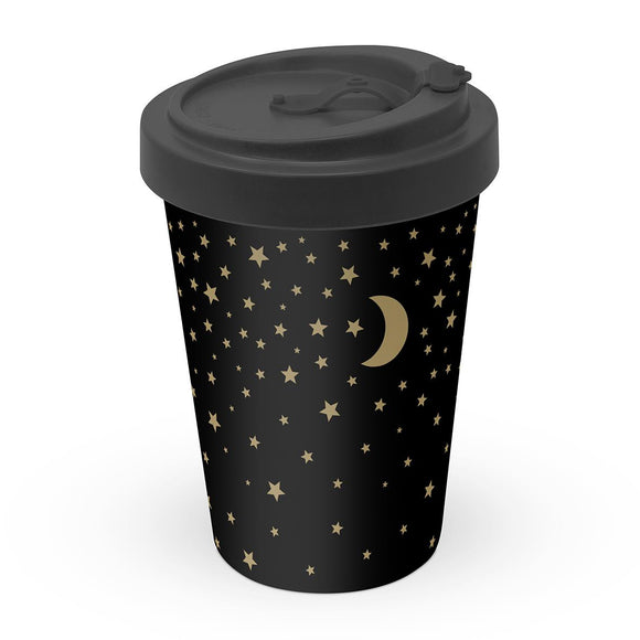 Moonlight Design Eco Friendly Bamboo Travel Mug - Caths Direct