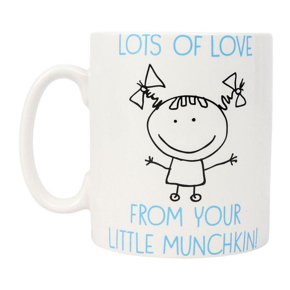 Amazing Dad Gift Mug From Your Little Munchkin - Caths Direct