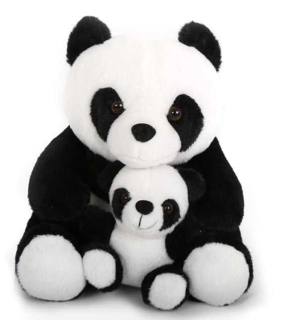 Mother & Baby Panda Doorstop