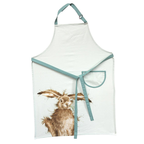 Portmeirion Wrendale Hare Design Cotton Apron - Caths Direct