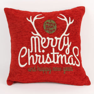 Red & White Christmas Cushion - Caths Direct