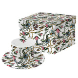 Bugs & Butterflies Design Coffee Cup & Saucer Set Boxed - Caths Direct