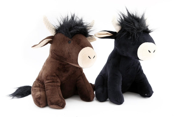 Highland Cow Doorstop Choice or Black or Brown Sold Individually