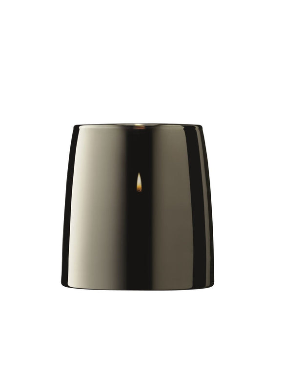 Light Metallics Table Storm Candle Lantern Platinum