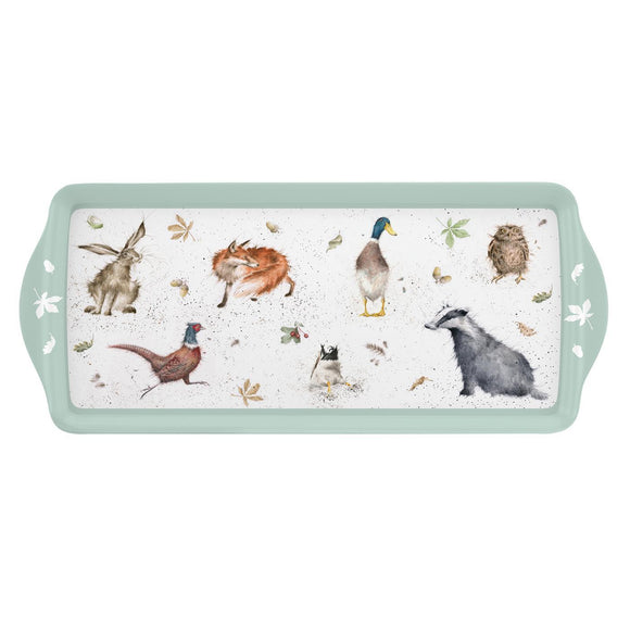 Portmeirion Pimpernel Wrendale Design Sandwich Tray - Caths Direct
