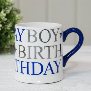 Quicksilver Gift Boxed Mug Birthday Boy - Caths Direct
