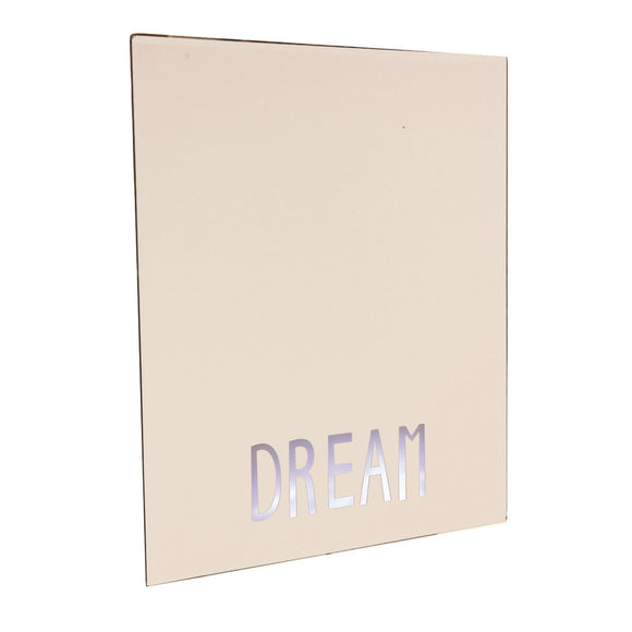 LED Dream Square Wall Mirror 40cm - Caths Direct