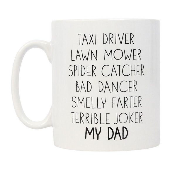 Amazing Dad Gift Mug Dads Job List - Caths Direct