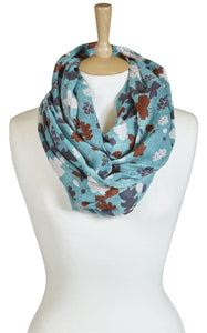 Quintessential Quebec Design Ladies Snood Scarf - Caths Direct