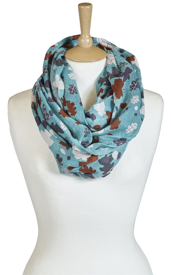 Quintessential Quebec Design Ladies Snood Scarf
