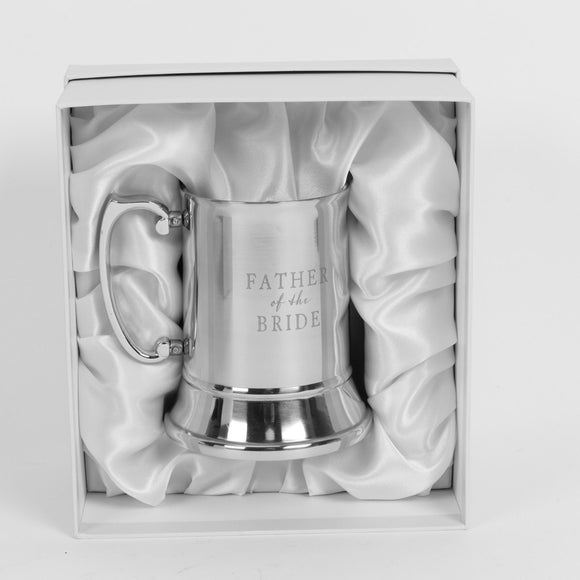 Amore Father of The Bride Tankard - Caths Direct