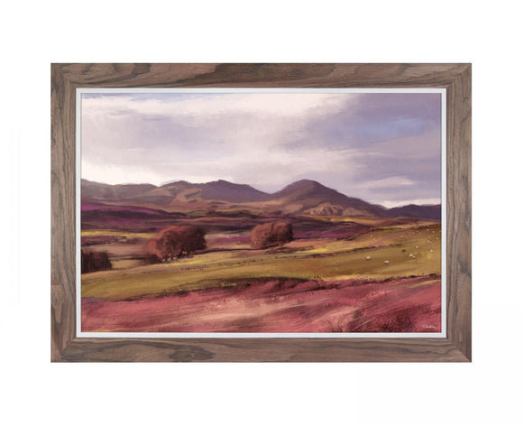 Highlands Print Framed Canvas