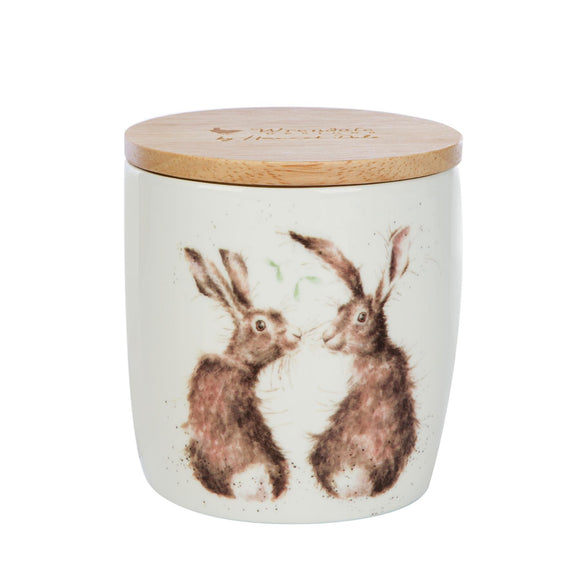 Wax Lyrical British Wrendale Illustration Ceramic Candle Jar Winter Wonderland - Caths Direct