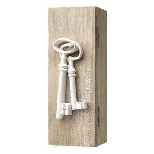 Wooden Key Box - Caths Direct