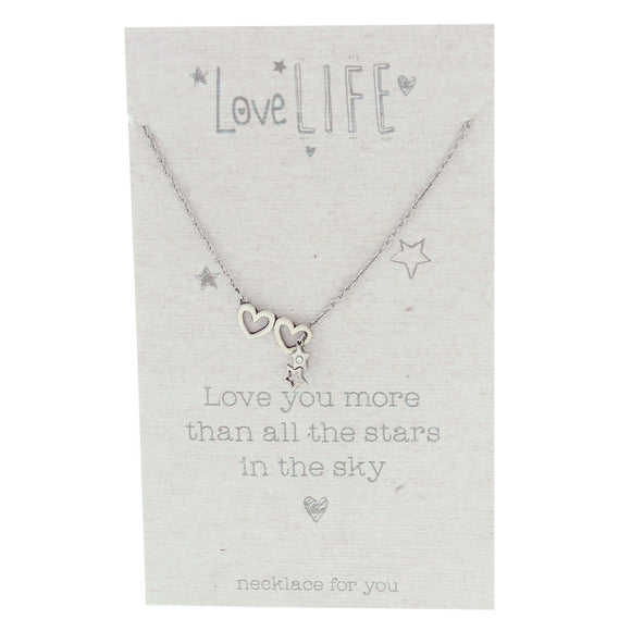 Necklace Love You More Than All The Stars in the Sky - Caths Direct