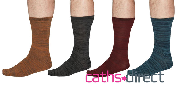 Mens Luther Organic Cotton Space Dye Socks Size 7-11 by Thought - Caths Direct