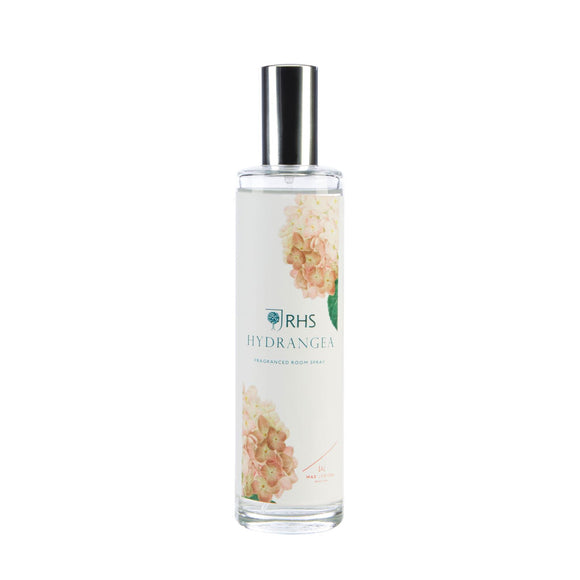 RHS Fragrant Garden Hydrangea Fragrance 100ml Room Mist - Caths Direct