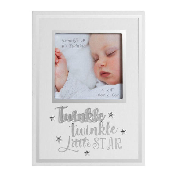 Twinkle Twinkle Little Star Baby Photo Frame - Caths Direct