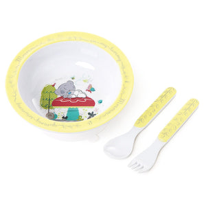 Me To You Tiny TT Bowl Spoon & Fork Set - Caths Direct