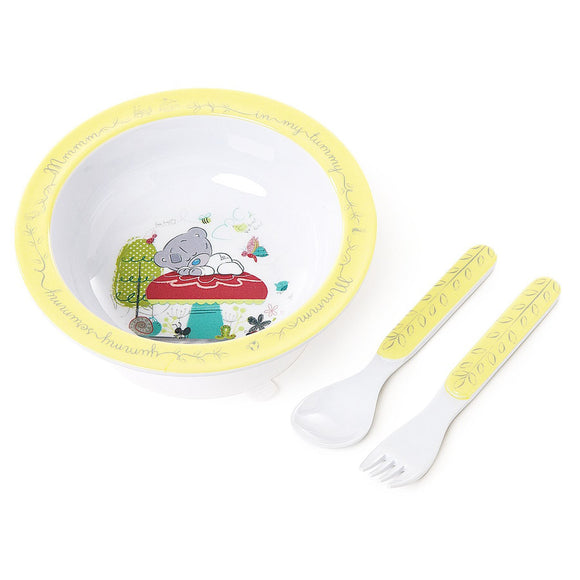 Me To You Tiny TT Bowl Spoon & Fork Set