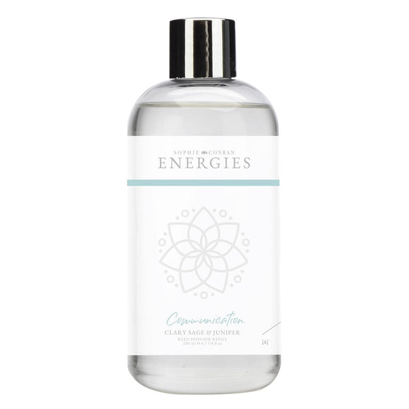 Sophie Conran Energies Communication Clary Sage & Juniper Reed Diffuser Refill by Wax Lyrical - Caths Direct