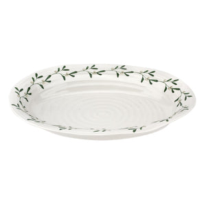 Sophie Conran Mistletoe Design Medium Oval Platter - Caths Direct