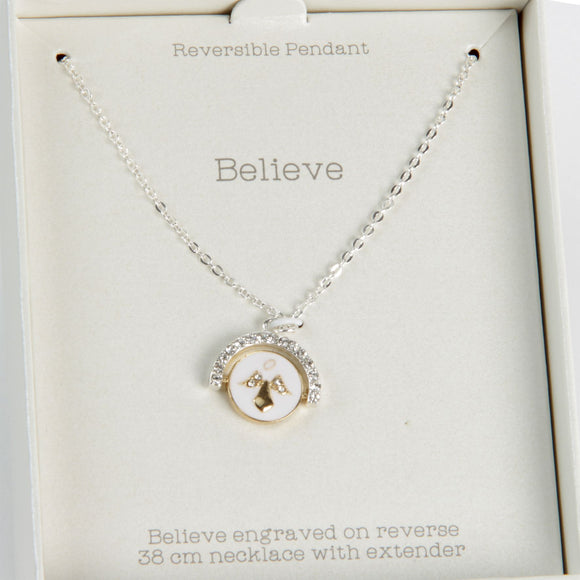 Love Life Divine Necklace - Believe - Caths Direct