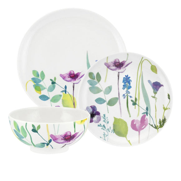 Portmeirion Water Garden 12 piece Dinner Set - Caths Direct