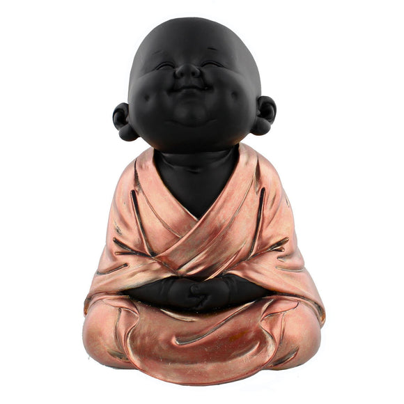 Rose Gold Buddha Meditating - Caths Direct