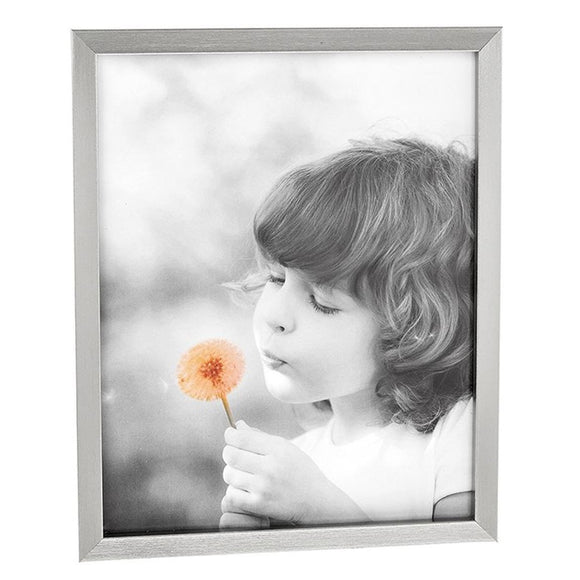 Antique Silver Effect Photo Frame 8 x 10