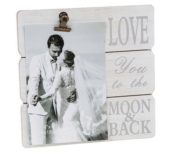 Message Clip Picture Holder Love You Gift