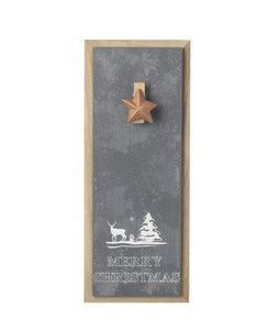 Christmas Wall Notice Board with Star Clip - Caths Direct