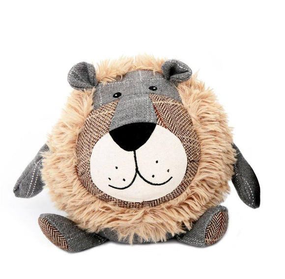 Fabric Lion Doorstop