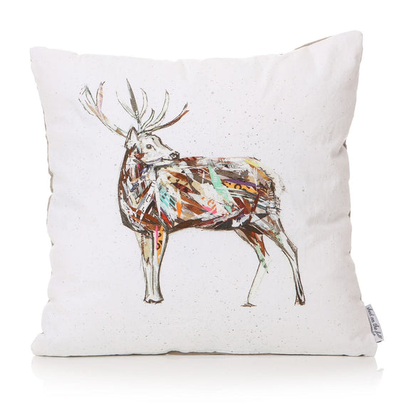 Stag Design Square Cushion