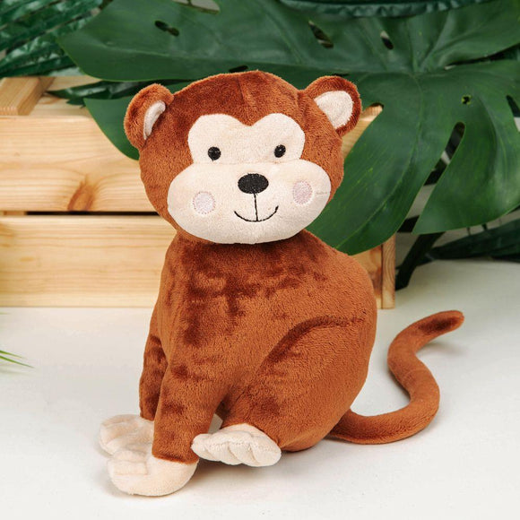Jungle Baby Chester the Monkey Plush Soft Toy - Caths Direct