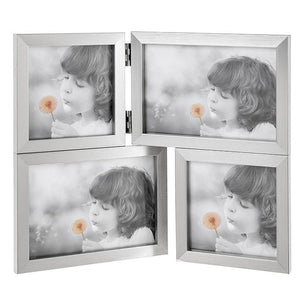 Antique Silver Effect Collage Photo Frame - Caths Direct