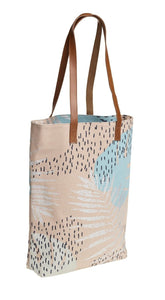 Quintessential Sorrento Collection Ladies Shopper Hand Bag Leaf Design - Caths Direct