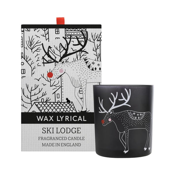 Wax Lyrical Baby It's Cold Outside Ski Lodge Fragranced Candle - Caths Direct