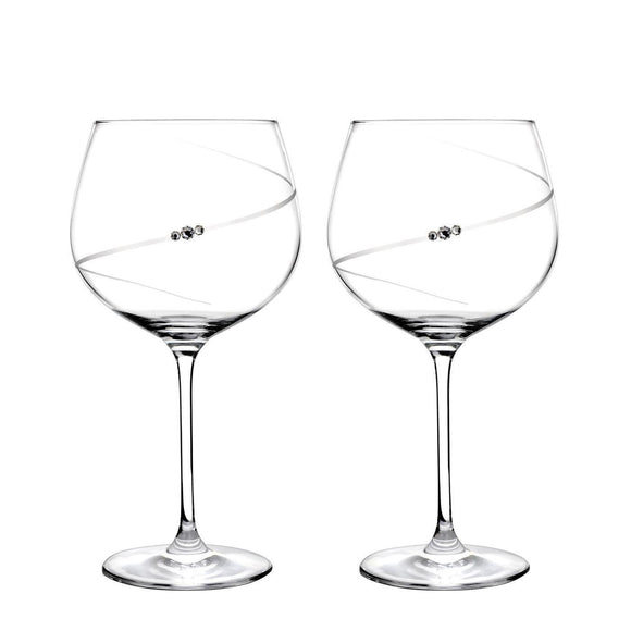 Portmeirion Auris Gin Glasses Set of 2 - Caths Direct