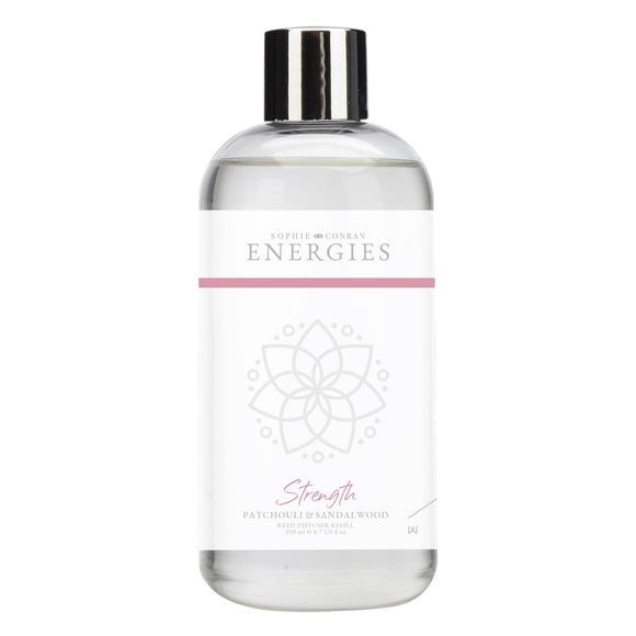 Sophie Conran Energies Strength Patchouli & Cedarwood Reed Diffuser Refill by Wax Lyrical - Caths Direct