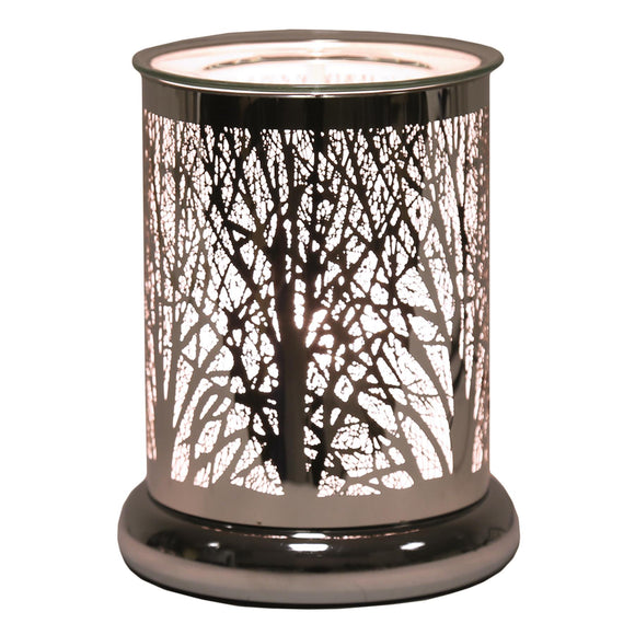 Aroma Forest Silhouette Electric Touch On/Off Wax Melt Warmer - Caths Direct