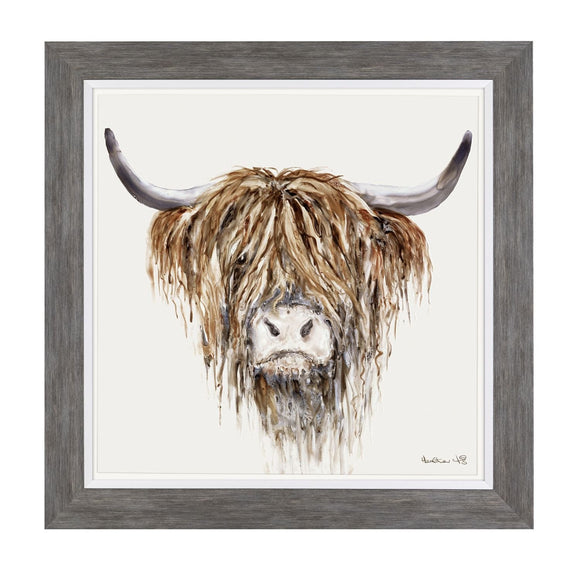 Freddie - Highland Cow Print 64cm - Caths Direct