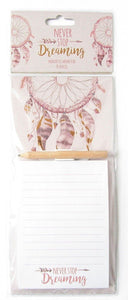 Dreamcatcher Magnetic Memo Pad - Caths Direct