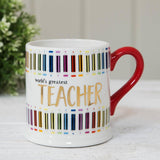 Worlds Greatest Teacher Mug With Gift Box - Caths Direct