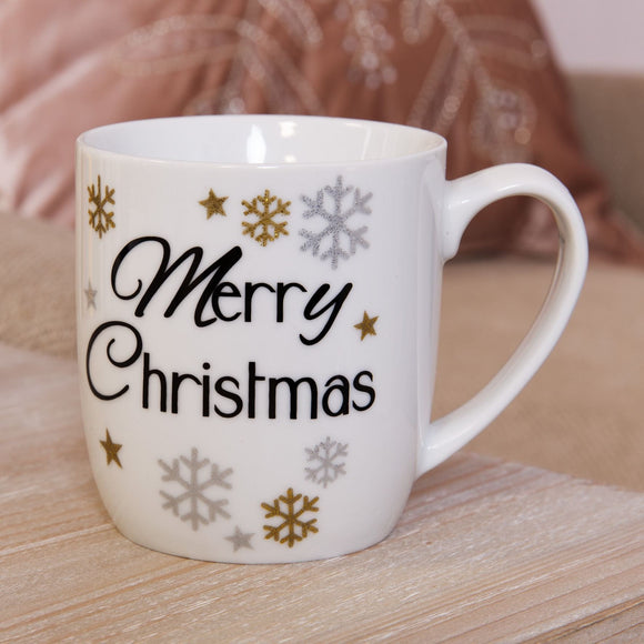 Merry Christmas Mug - Caths Direct