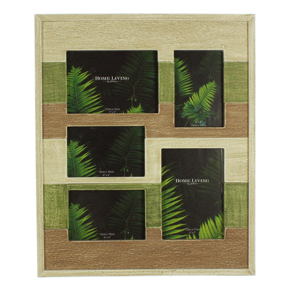 Amazonia TriColour Photo Frame - Caths Direct