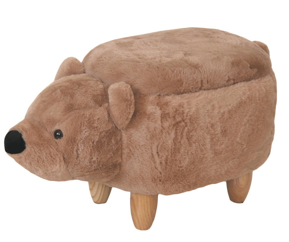 Bear Design Storage Footstool - Caths Direct