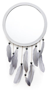 Blue Dream Catcher Style Mirror - Caths Direct